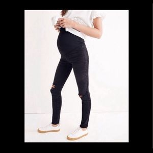 """Madewell maternity over the belly skinny jeans 24"""""""